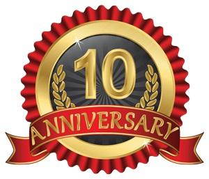 PJR Management celebrates its ten year anniversary in April 2015!